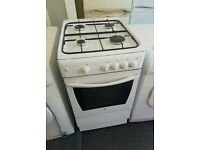 Indesit gas cooker white goods kitchen apliances