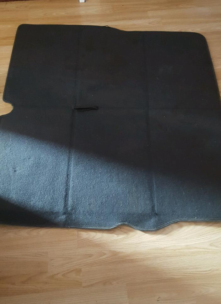 Zafira A Boot cover and carpet