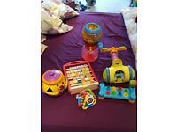 Fisher price toys toddler bundle of toys