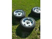 BORBET TYPE A 4x100 - 15x8J wheels and tyres