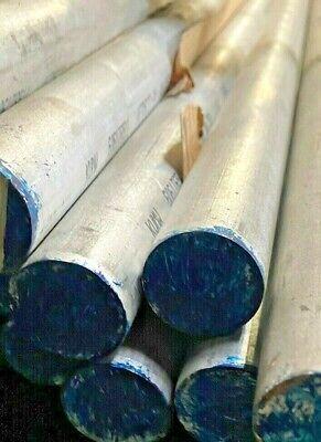 1-14 - Aluminum 6061 T-651 Round Bar 1.25 X 8 4 Pieces