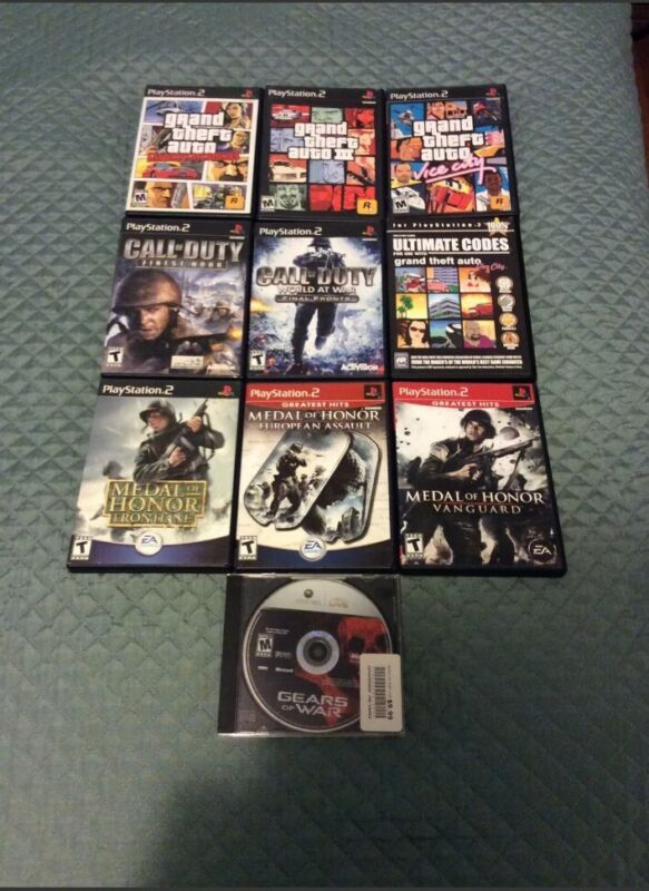 PS2 53 Game Lot