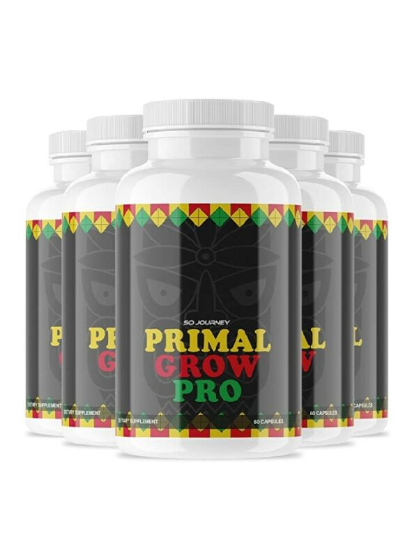 5 Pack) Primal Grow Pro for Men (300 Capsules)
