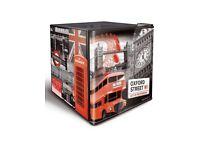 London style mini fridge