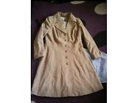 Pepperberry(Bravissimo) Camel Long Coat(RRP £129) - Size 16 Super Curvy**BRAND NEW WITH TAGS*