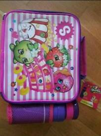 Shopkins lunchbox and flask BRAND new