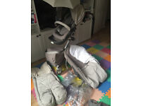 Stokke Xplory Pushchair and accessories