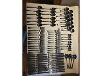 Used 84 piece Arthur Price cutlery set