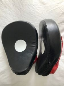 Boxing / MMA Focus Pads - Genuine Cowhide Leather