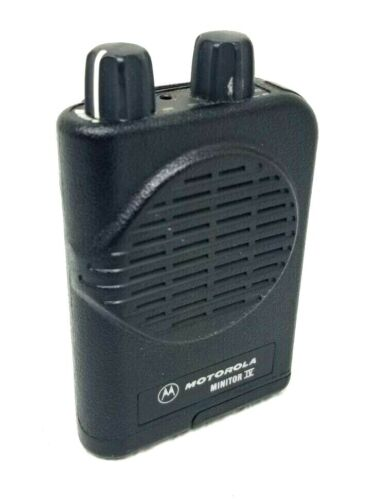 MOTOROLA MINITOR IV VHF 2 Ch SV PAGER Fire Dept/EMS #A03KUS9239AC  151-159MHz