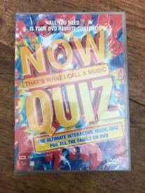 Now that's what I call music Quiz DVD
