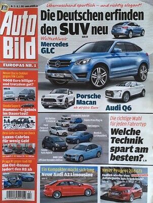 Auto Bild Nr. 13 • 03/2013 • Europas Nr.1 • Die Deutschen erfinden den SUV neu