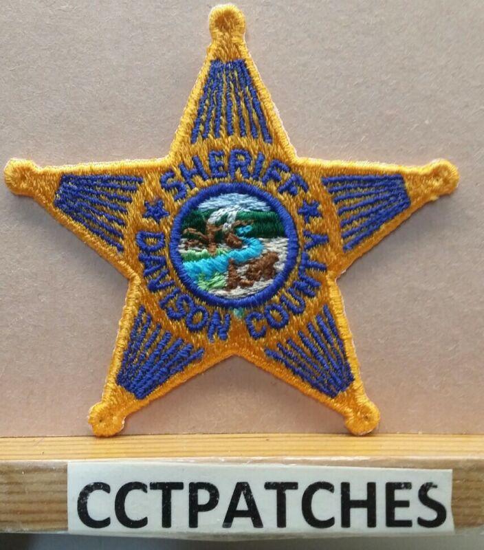 DAVISON COUNTY, SOUTH DAKOTA SHERIFF (POLICE) SHOULDER PATCH SD