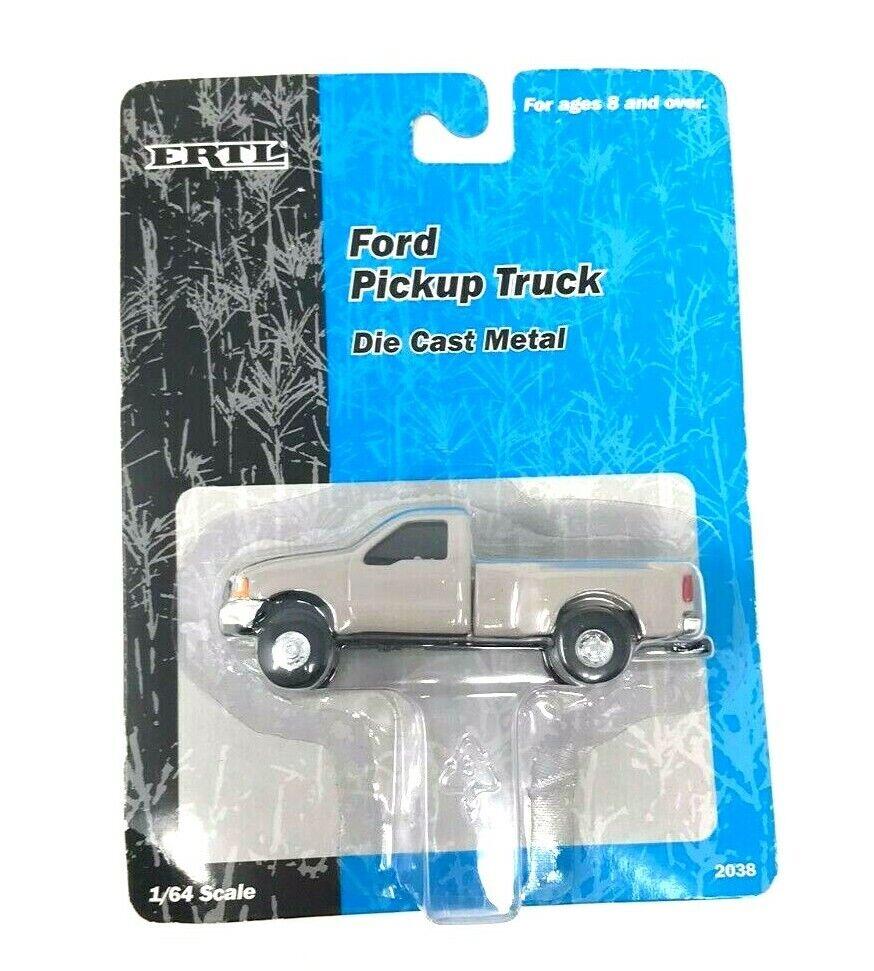 ERTL Die Cast F4000, F150, F350, Ford Pickup, Tractor, Rare 1/64 Scale 1