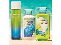 Bath & Body Works Tahiti Island Dream gift set!