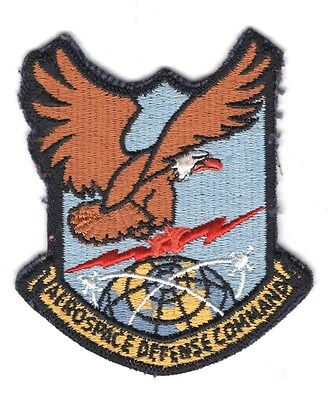 Usaf Air Force Patch    Aerospace Defense Command   2 3 4   Small Letters