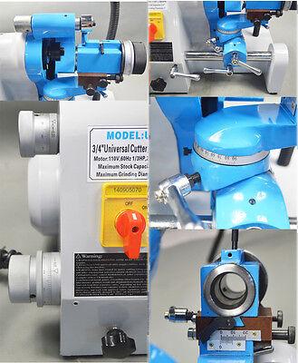 Ce U3 110v R8 Collets Universal Cutter Grinder Sharpener End Mill Lathe Bit New