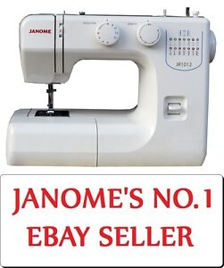 Janome JR1012 Sewing Machine, Brand New In Box, Dressmaking, Hemming, STOCKTAKE