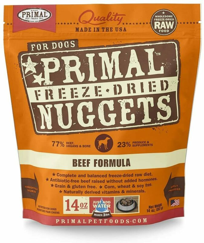 Primal Freeze Dried Grain Free Beef Dog Food 14oz