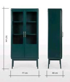 Free delivery/ MADE COM DISPLAY CABINET - CASSEY/ RRP599