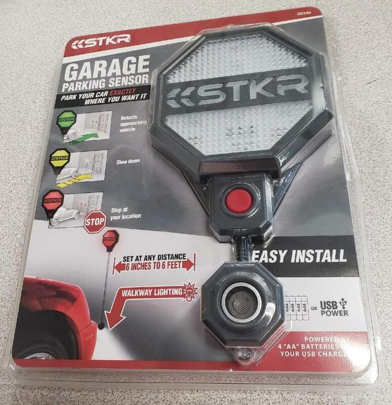 = STKR Garage Parking Sensor Set At Any Distance Easy Install 00246 NEW