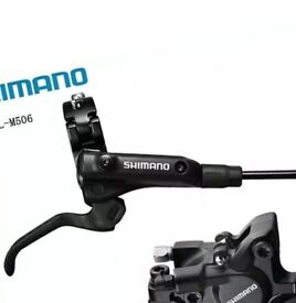 Shimano m506 set of brakes,front and rear. RRP £90