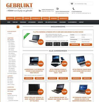 refurbished  laptop vanaf 125 euro inc  21% BTW + garantie