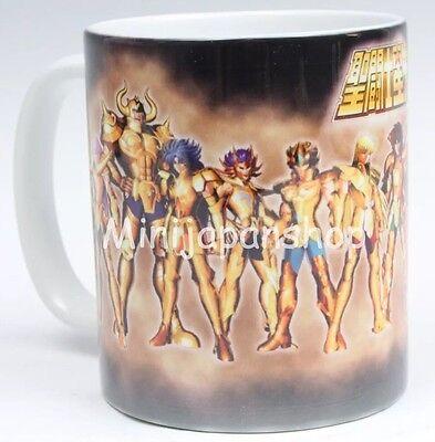 Saint Seiya 12 Gold Saints 11 oz cup coffee mug Japan Anime US Seller