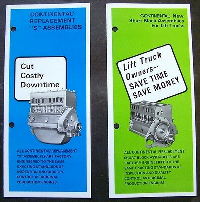 Continental Forklift Engine   Owner's Guide to Business and