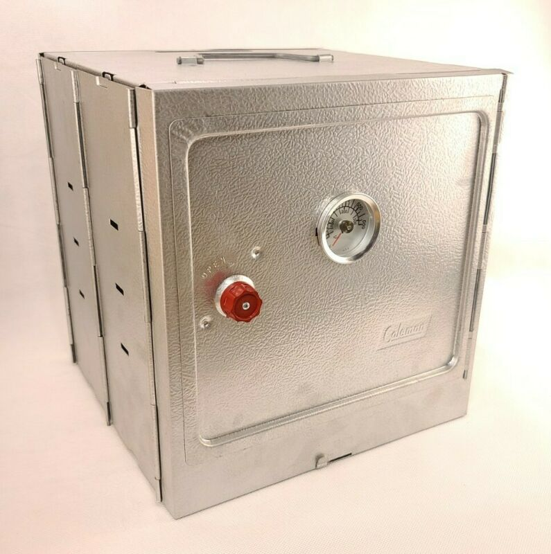 COLEMAN CAMP STOVE OVEN # 5010B700 NON CORROSION ALUMINUM STEEL - NEW Open Box