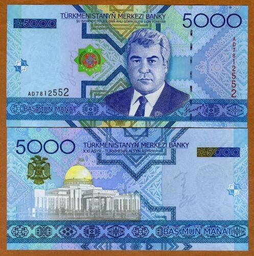 Turkmenistan, 5000 Manat, 2005, P-21, UNC