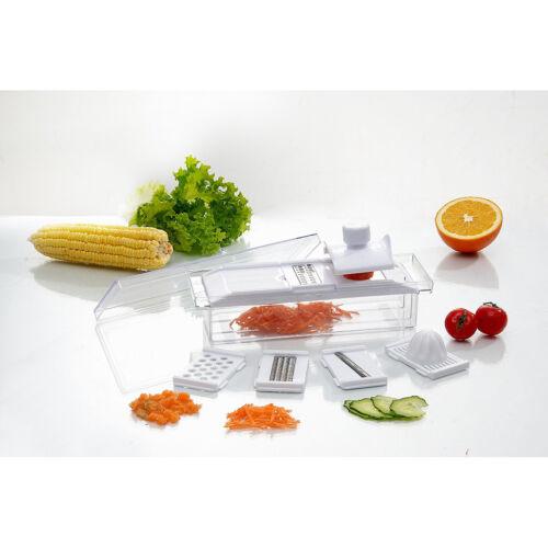 KitchenWorthy Complete KITCHEN PREP CENTER  Slice - Dice - Juice - Grate - Shred