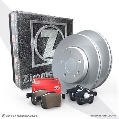 Zimmermann Bremsscheiben + Beläge + WK Vorne MERCEDES GLE 350 d AMG Line 4Matic