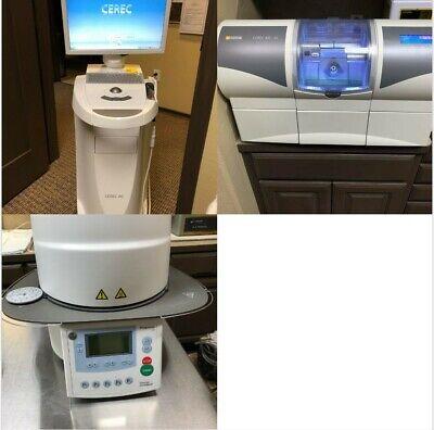 Sirona Cerec Omnicam 2013 Dental Scanner W Mc Xl Mill Programat Cs Furnace