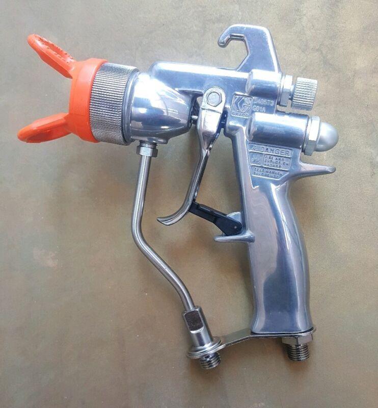 GRACO ALPHA PLUS AIR-ASSISTED AIRLESS SPRAY GUN,,PAINT SPRAYER,,4000 psi