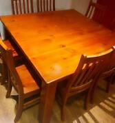 8 seater square dining room setting Berwick Casey Area Preview