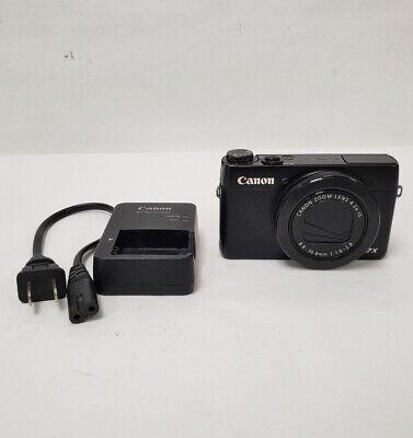 Canon PowerShot G7 X Digital Camera 8.8 - 36.8 MM 13/L52577A