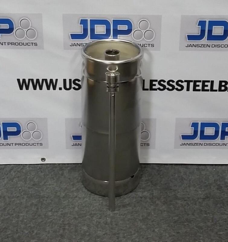 Stainless Steel Keg NEW (1/6) with Spear  Beer keg