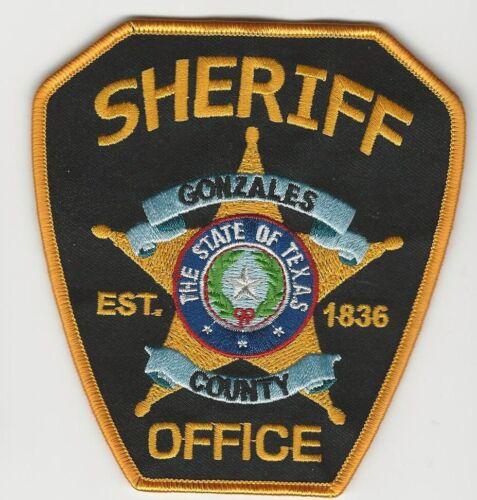Gonzales County Sheriff State TExas TX NEW