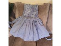 Hollister Girl's Dress Blue & White Check Size XS