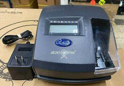 Lathem 1600e Atomic Time Clock ---- S11