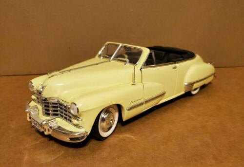 1947 Cadillac Series 62 Convertible 1:18 Anson No Box