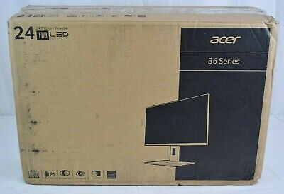 "Acer B246wl 24"" Led Lcd Monitor - 16:10 - 6 Ms - 1920 X 1200 - 16.7 Million NOB"