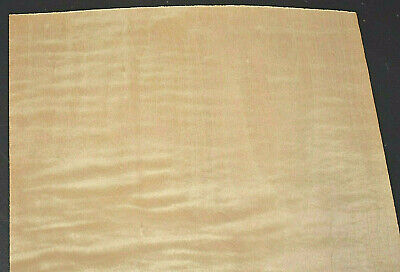 Curly Maple Raw Wood Veneer Sheets 9 X 35 Inches 142nd 7631-2