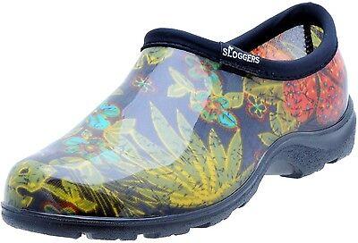Sloggers 5102BK09 Women's Garden Shoes, Midsummer Black, Size 9