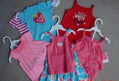 Carter's & Baby Starters Girl's {9 Pieces}(Size 9 Mo)  Interchangeable SR $118
