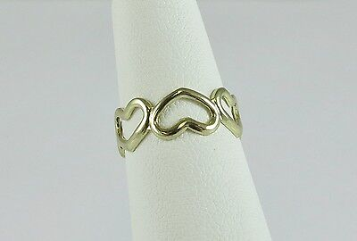 New Wholesale Toe Ring 14K Gold Plate Fashion Jewelry Gold Hearts