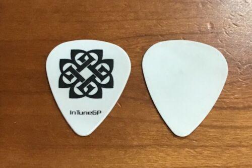 Breaking Benjamin Guitar Pick White