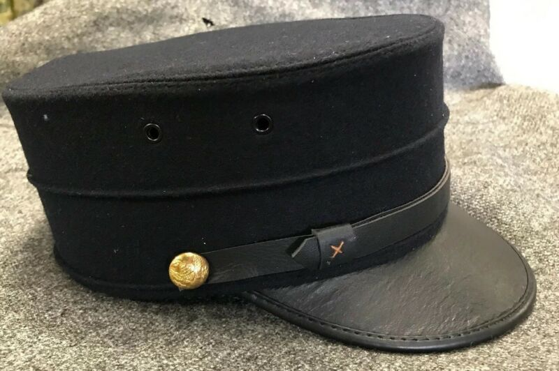 Reproduction M1895 Enlisted Forage Cap Size 7 5/8