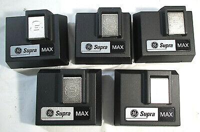 Ge General Electric Supra Max Key Lock Box No Keys Lot Of 5new
